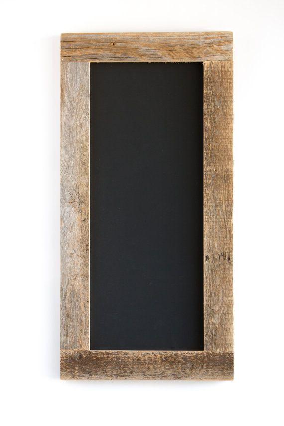barnwood framed chalkboard 24