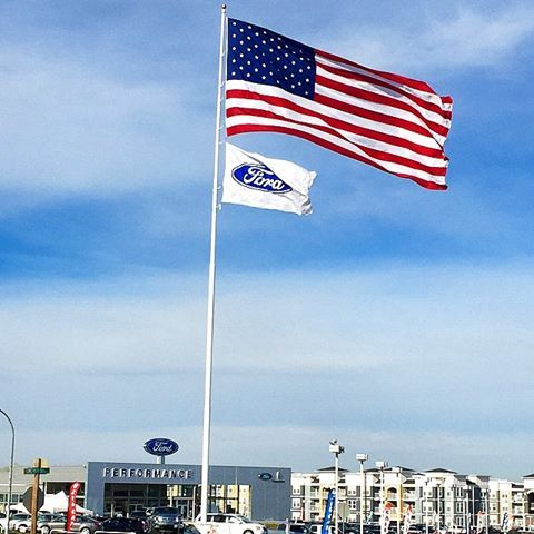 Another Beautiful Day Here At Performance Ford Lincoln Bountiful