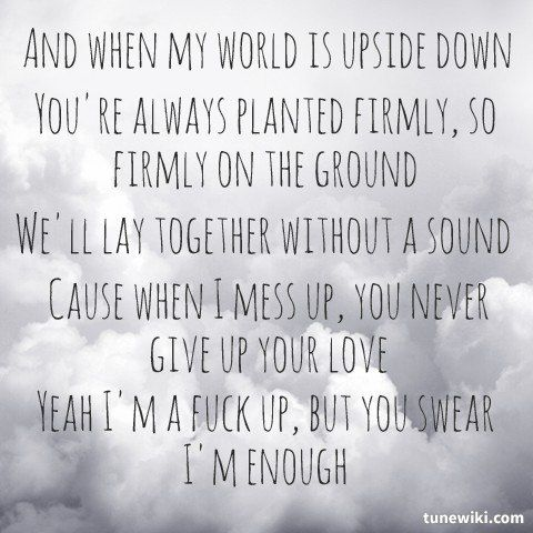 "-- #LyricArt for ""Puppy Love"" by This Wild Life"