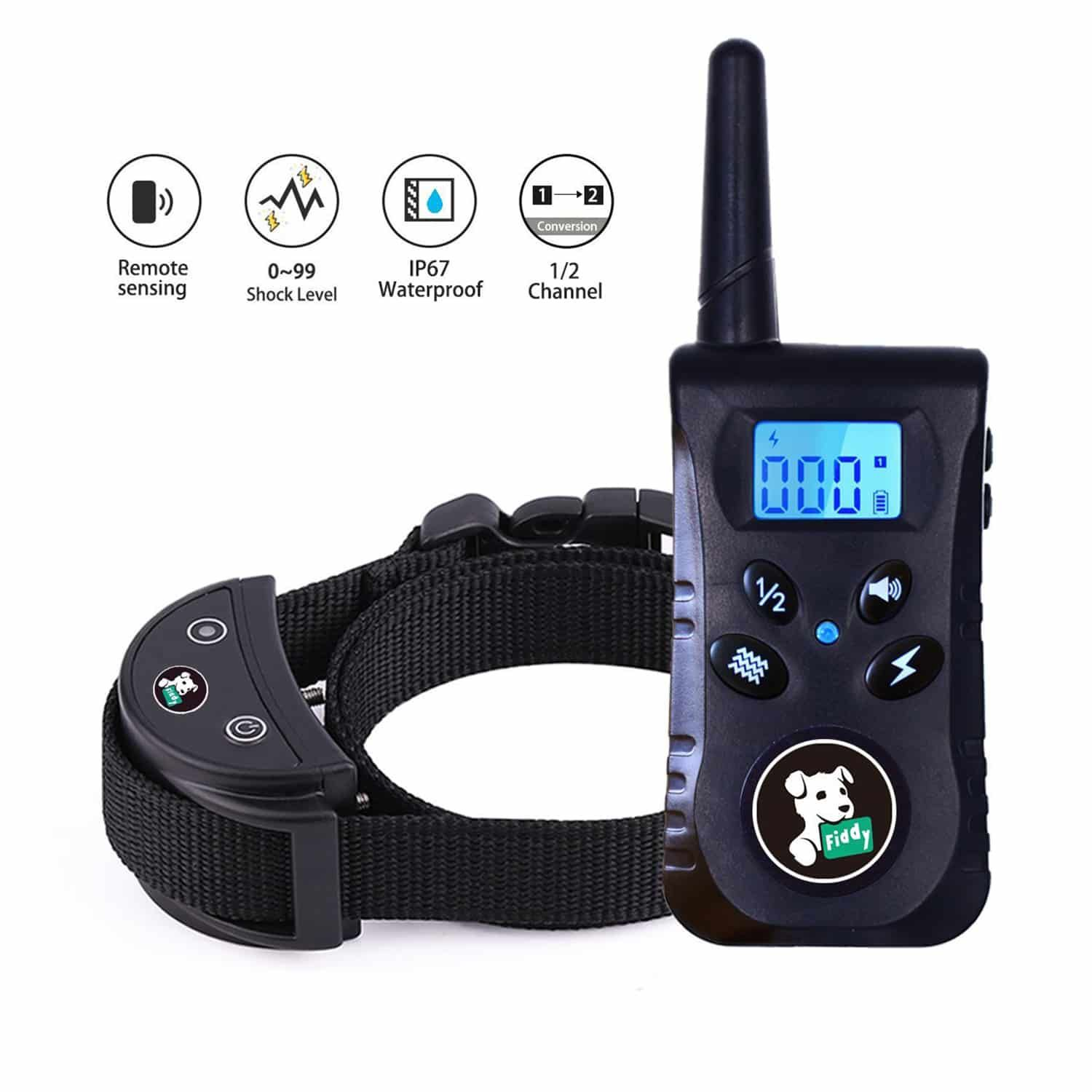 Fiddy Dog Training Collar With Remote Top 10 Best Dog Training