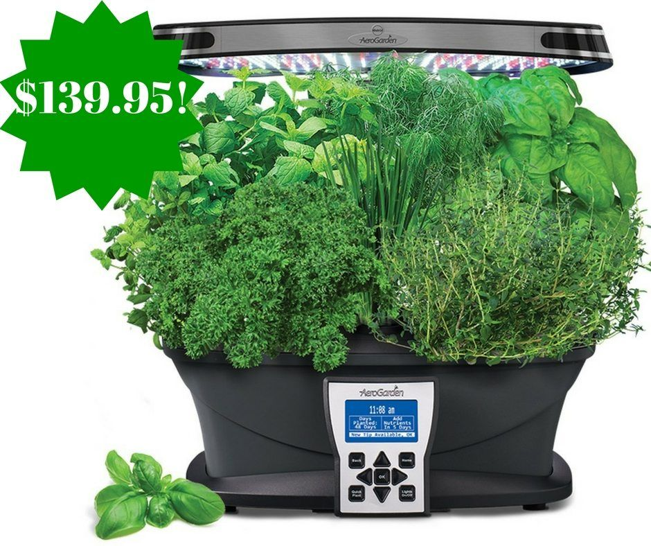 Amazon Aerogarden Ultra Led With Gourmet Herb Seed Pod 400 x 300