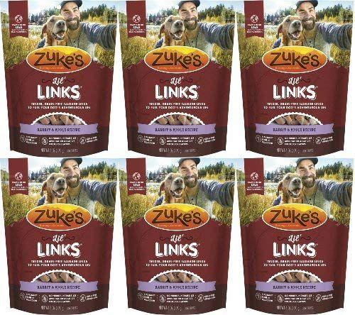 Zuke's Lil' Links Rabbit & Apple 2.25Lbs (6 x 6oz) Review