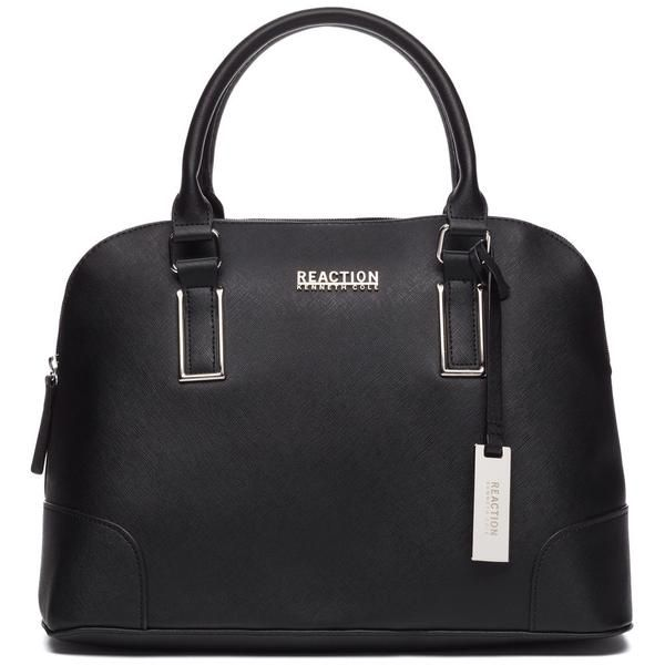 Kenneth Cole Reaction Black Mirror Master Dome Satchel Citi Trends Designer Front