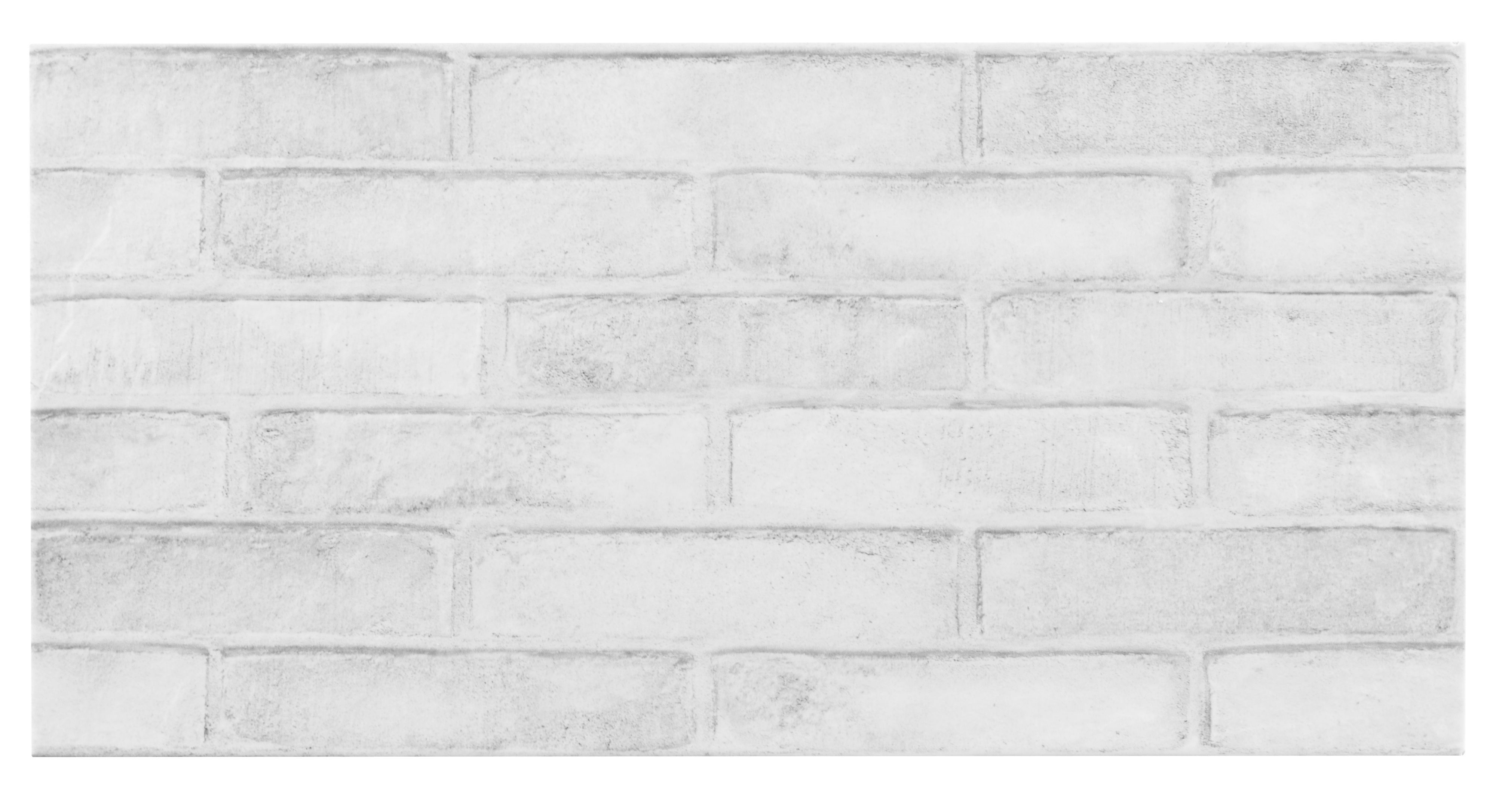 Lofthouse Whitewash Brick Effect Ceramic Wall Floor Tile Pack Of 6 L 598mm W 298mm Departments Diy At B Q Tile Floor White Wash Brick Brick Tiles