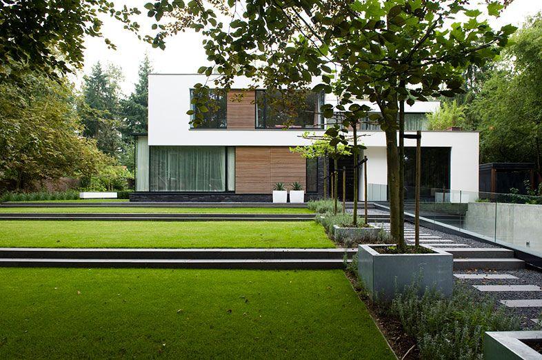 Buytengewoon minimalistische tuinen minimalistische tuin