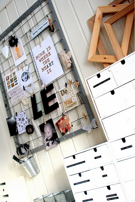 Love This Alternative To The Cork Board