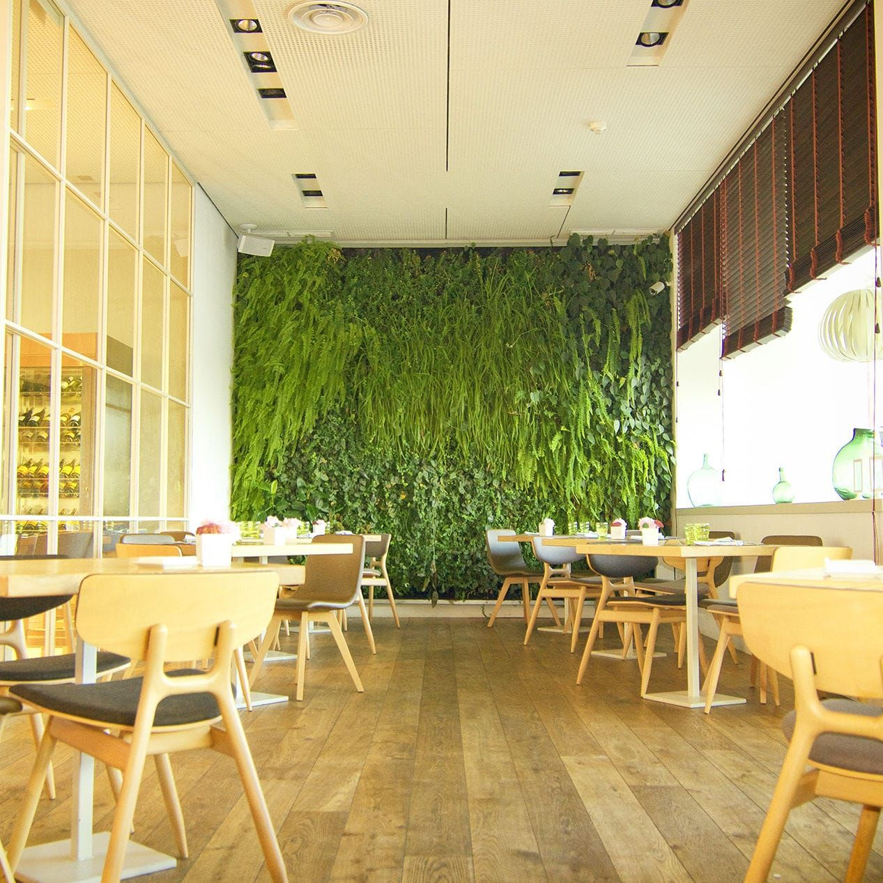 Indoor green wall / outdoor / modular BIOFIVER IGNIAGREEN | Jardines ...