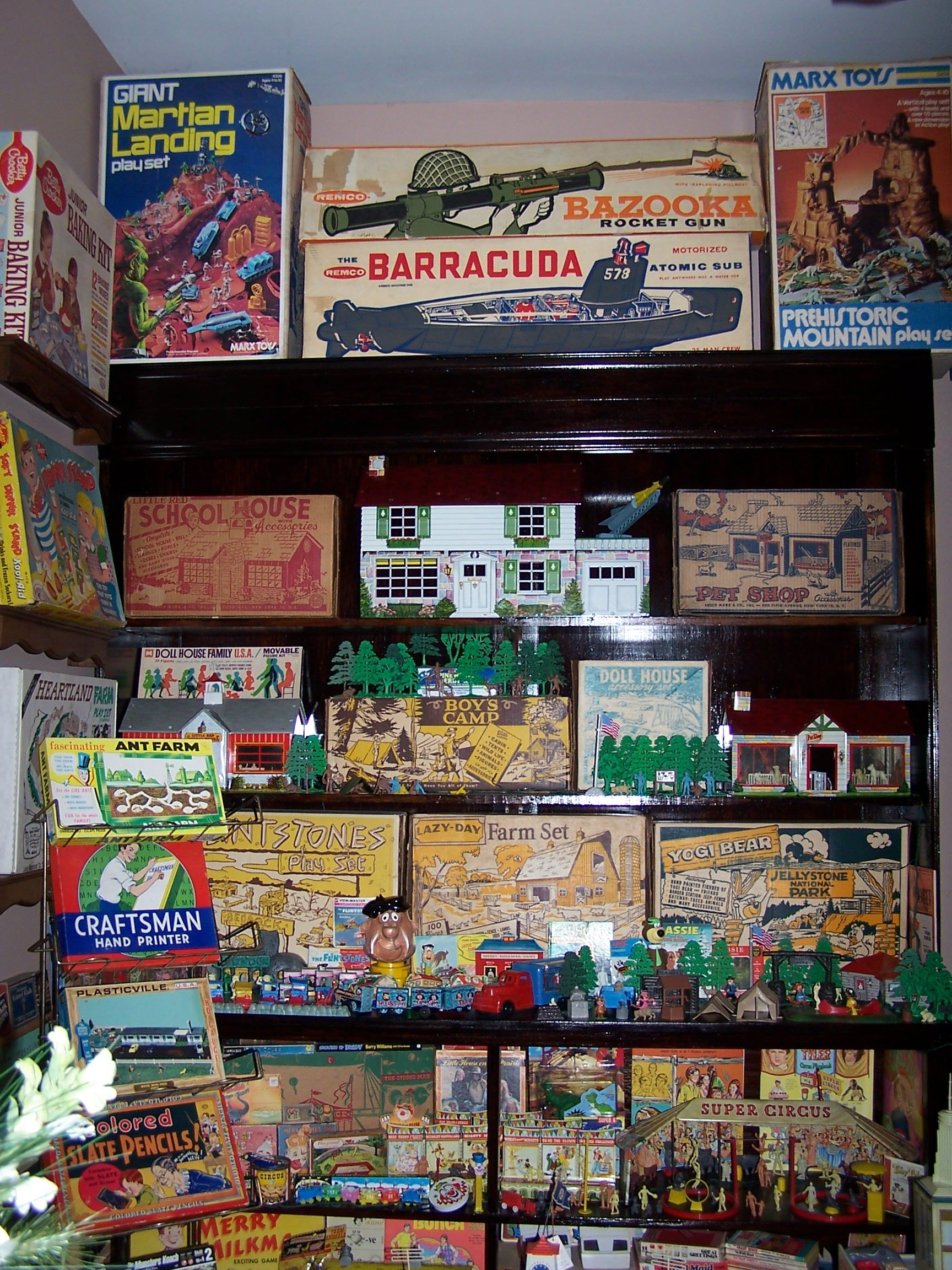 Toys, Marx Playsets | Come See My Collections | 1970s toys ...
