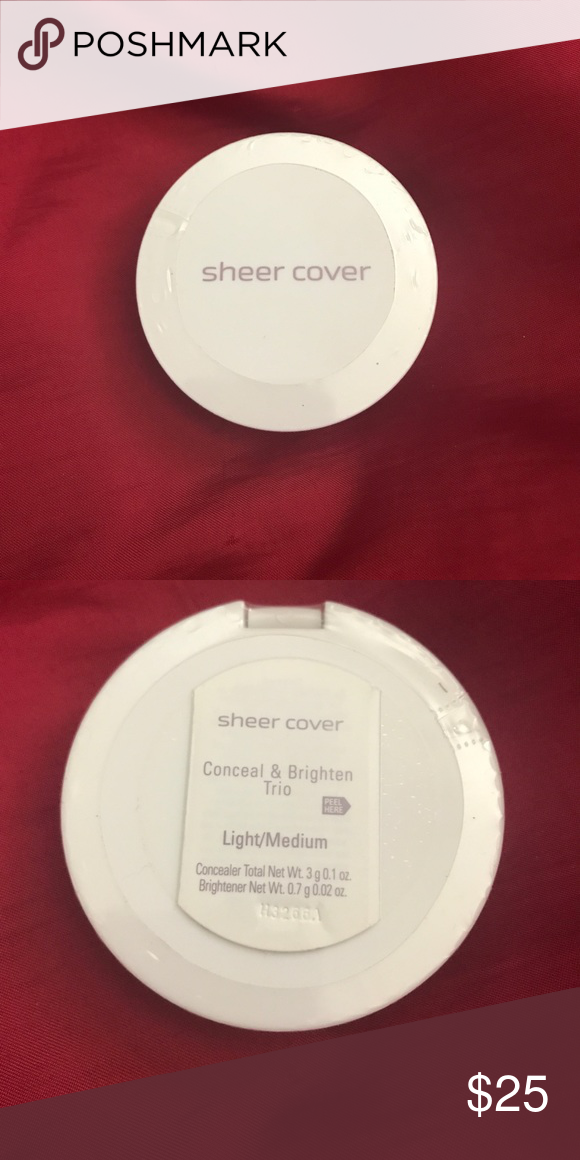 Sheer Cover Conceal & Brighten Trio Light/Medium Skin