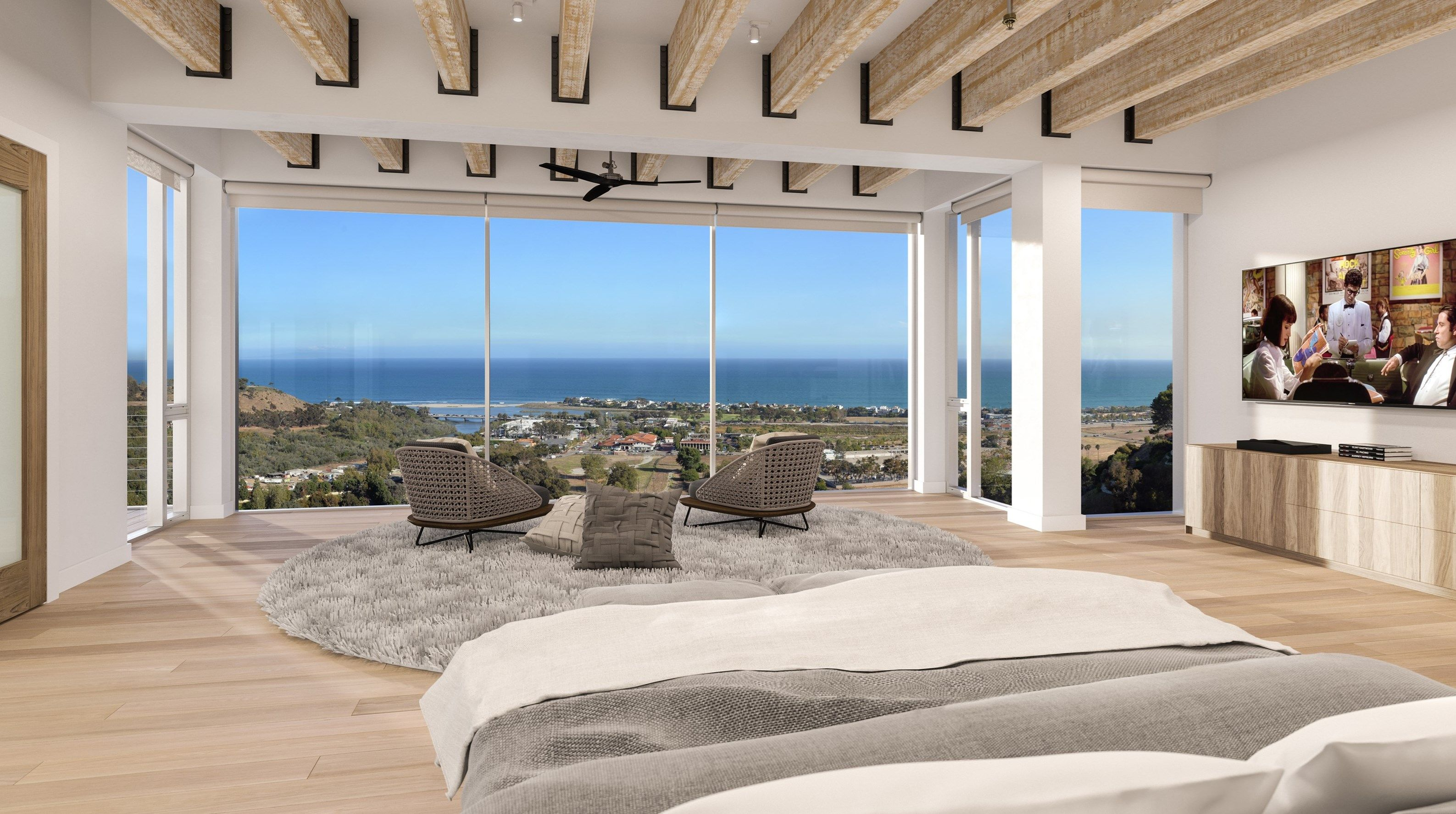 curbed expensive master bedroom bedrooms of homes suites most hamptons the