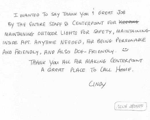 Thank You Note To Employee Hicks Scholarship Thank You Letters