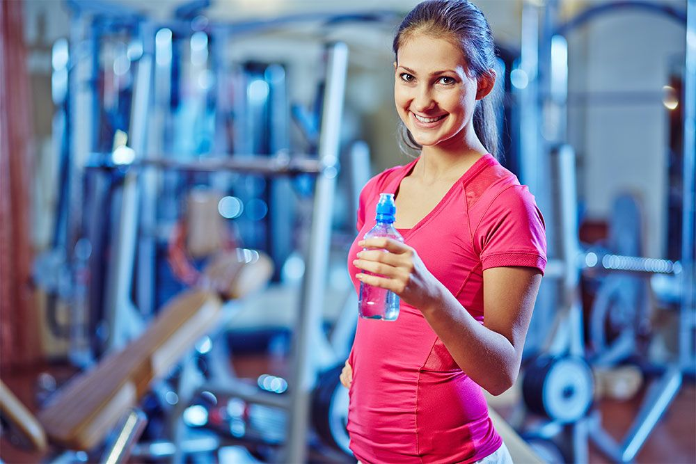 Keep hydrated in the gym