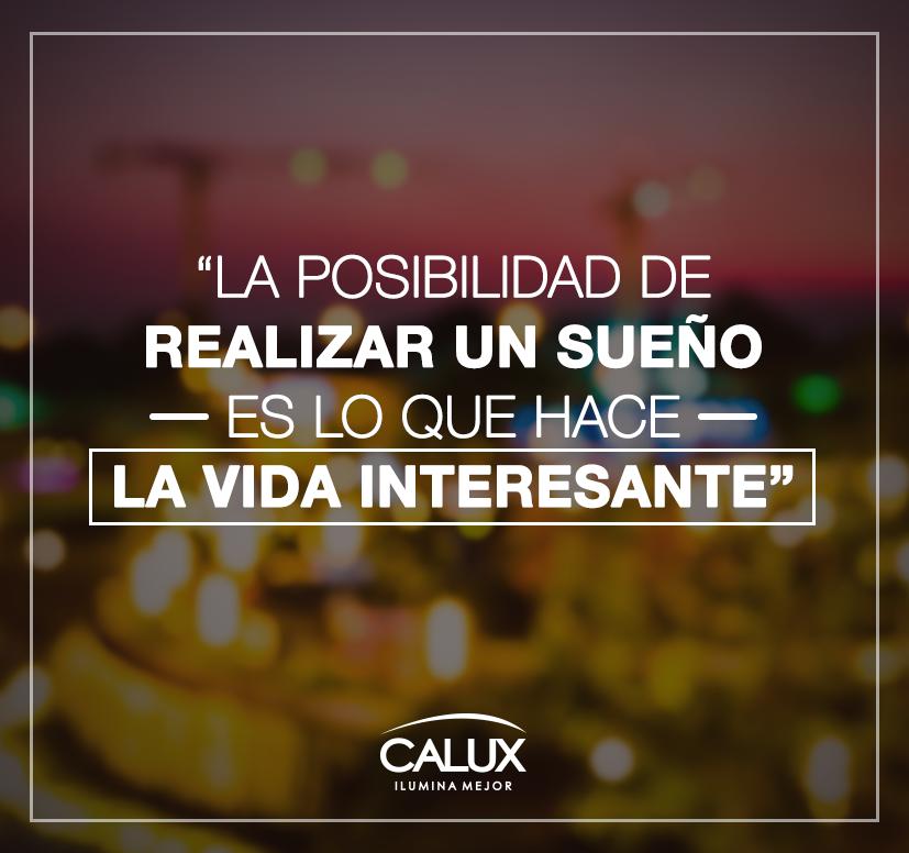 En Calux podemos apoyarte a lograr los espacios que deseas. #Iluminación #FrasesCalux #FrasesInspiradoras