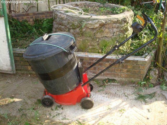 Fabriquer un broyeur v g taux pour 0 fabriquer for Broyeur pour jardin