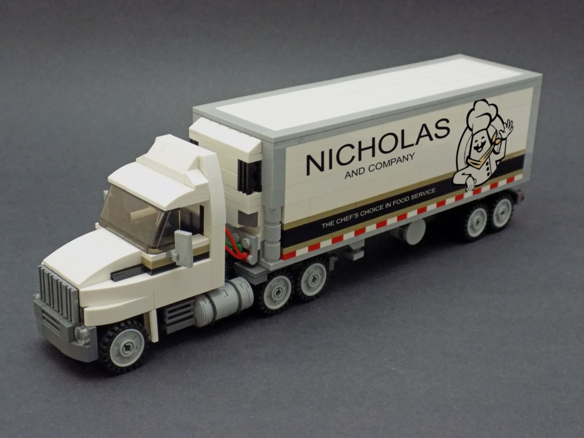Semi Tractor Trailer With Images Lego City Truck Lego Truck