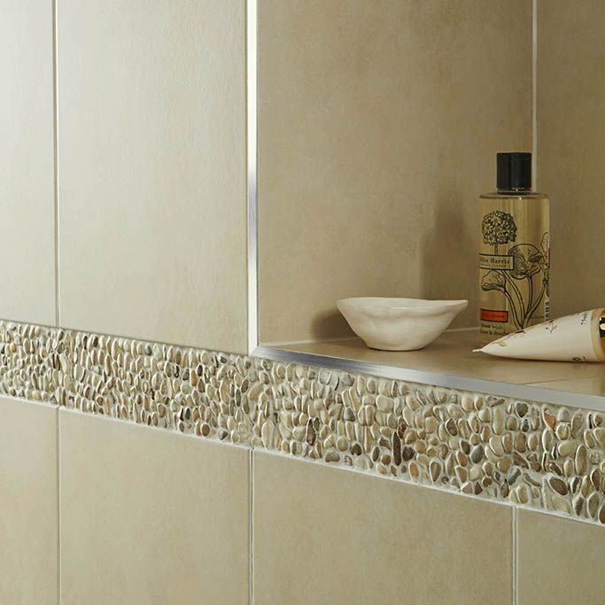 How To Finish Tile Edges And Corners Tile Mountain Tile Edge Bathroom Shower Tile Shower Tile