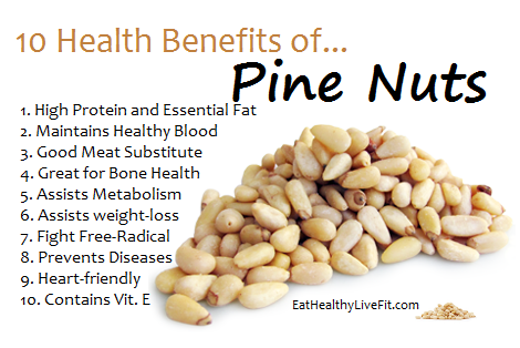 The Health Benefits of Pine Nuts Eating Healthy & Living