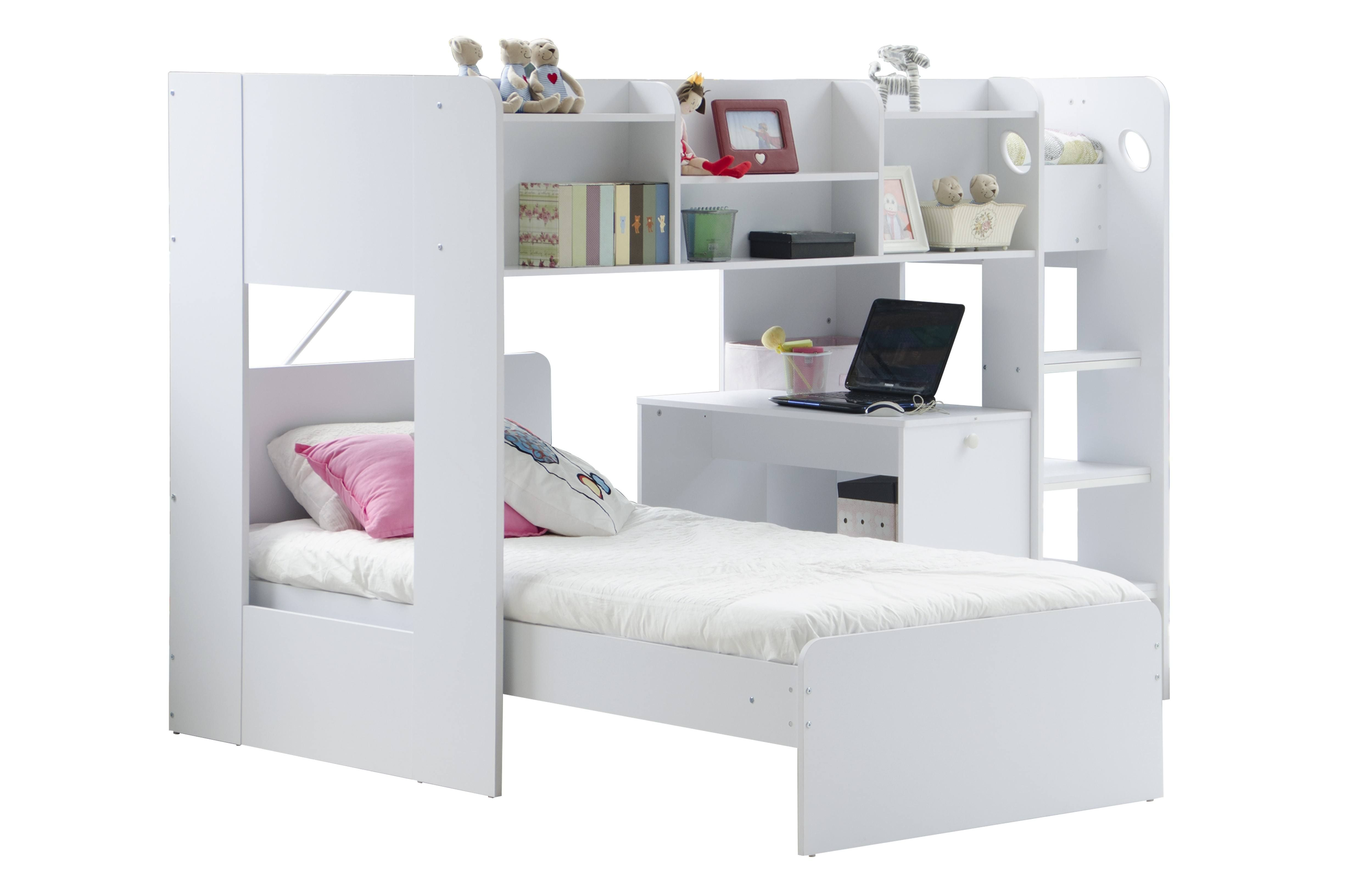 Ideas for space under loft bed   Interesting L Shaped Bunk Beds Design Ideas Youull Love  Bunk
