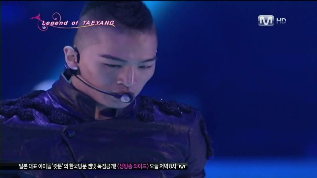 Taeyang(sol) Live! Where U At+Wedding Dress