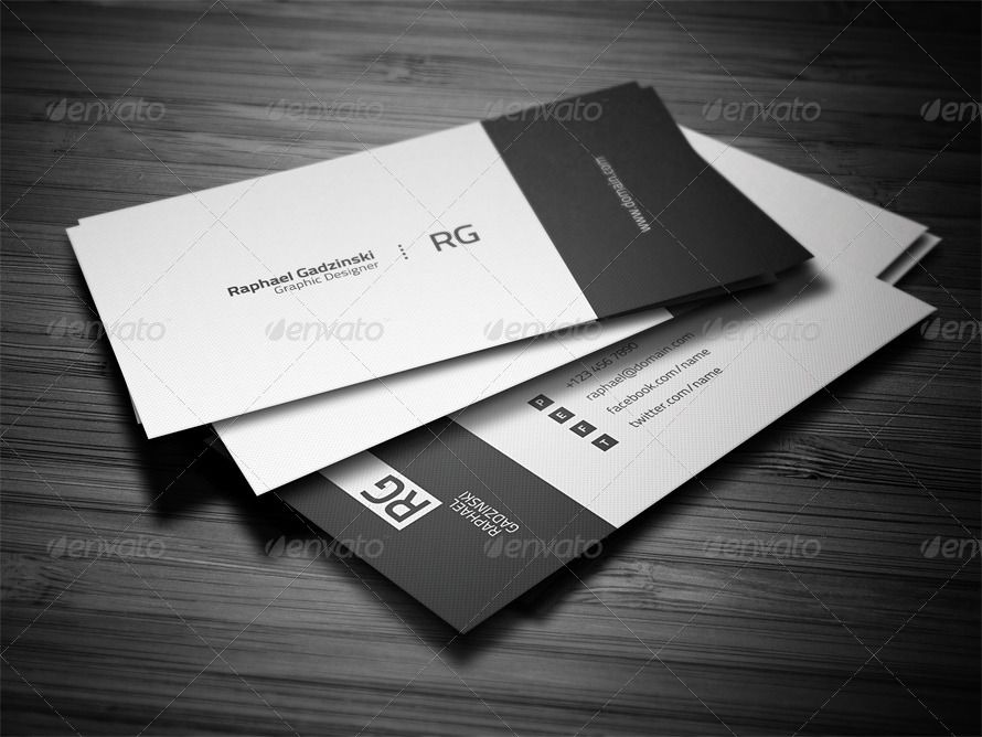 simple personal business card - Fieldstation.co