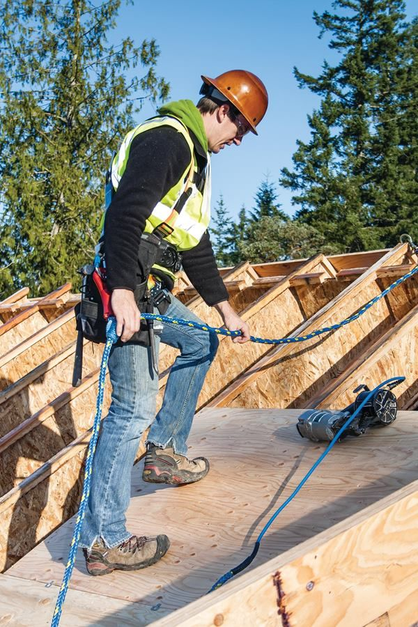 Fall Protection for Roof Work You'll need a written plan