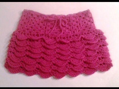 Uncinetto Come Fare Una Gonnellina Per Bambina 2 Di 5 Crochet