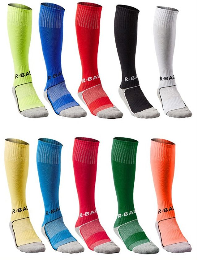 Hocsocx Boys//Mens Striped Liner UNDER Socks for Football//Hockey