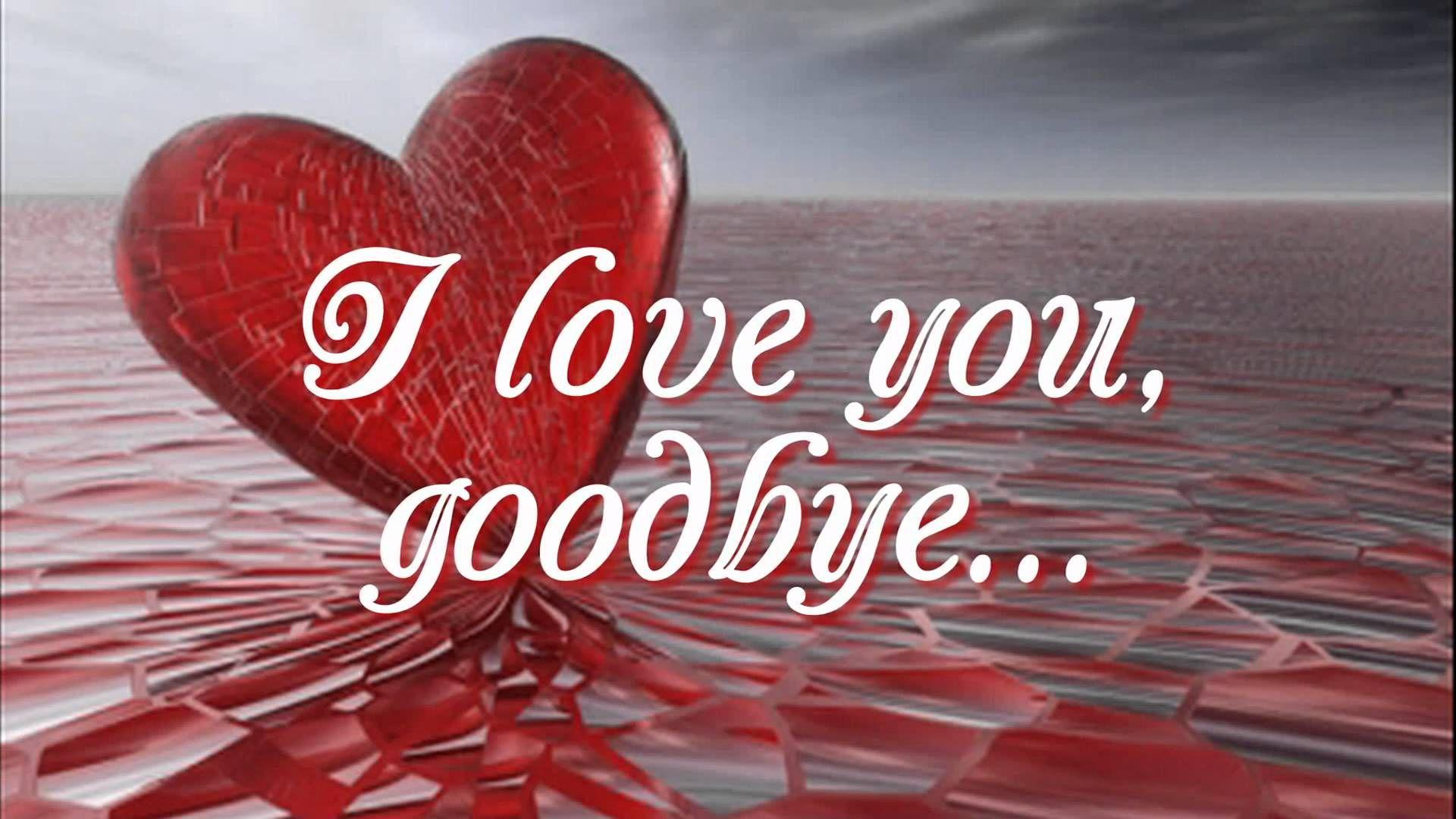 I Love You Goodbye - Juris (Lyrics)  I love you pictures, Loving