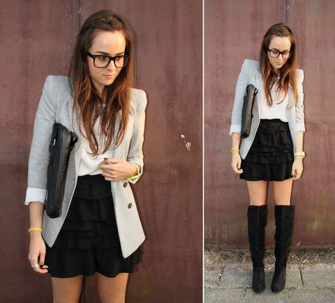 Fall Trends: High Boots, Ankle Wedges & Oxfords | High boots, Bags ...