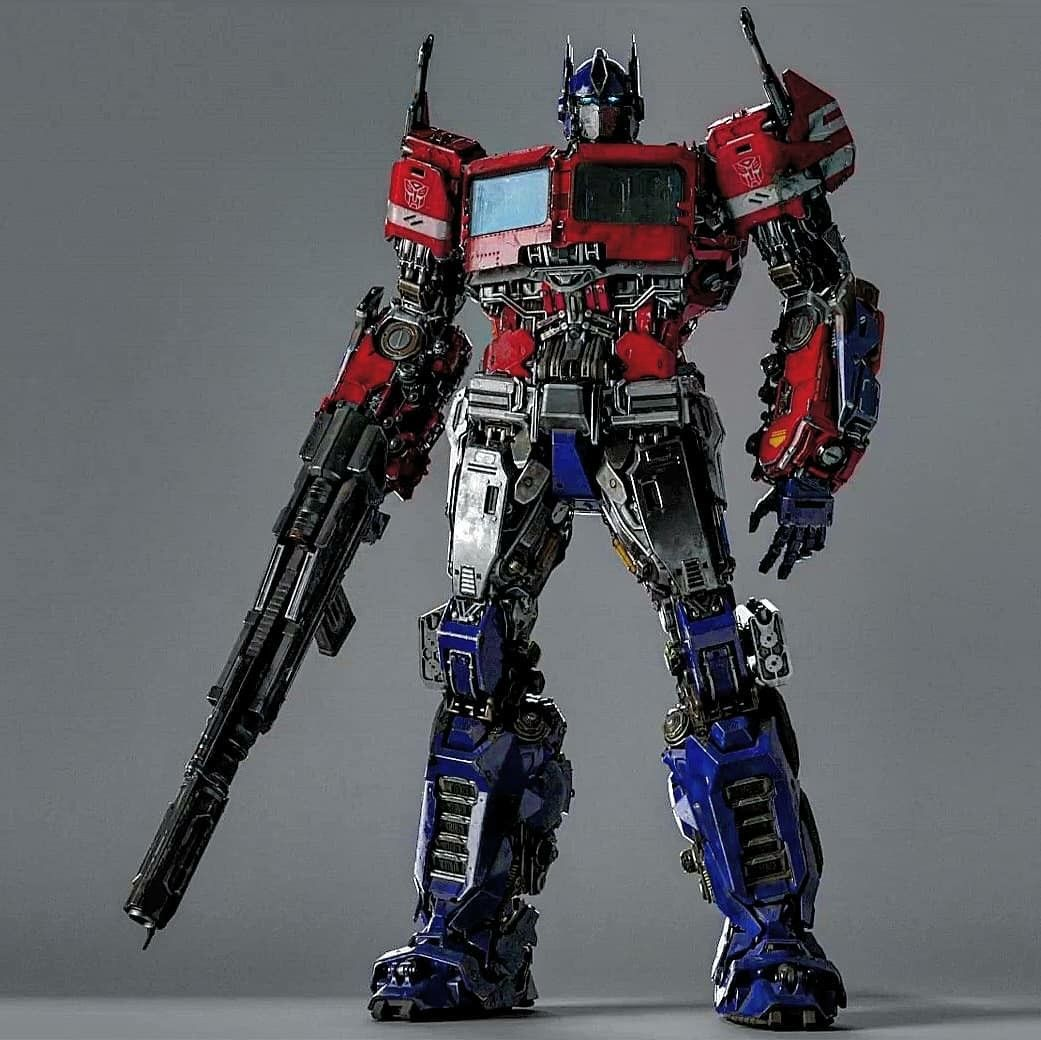 Optimus Prime From The Bumblebee Movie