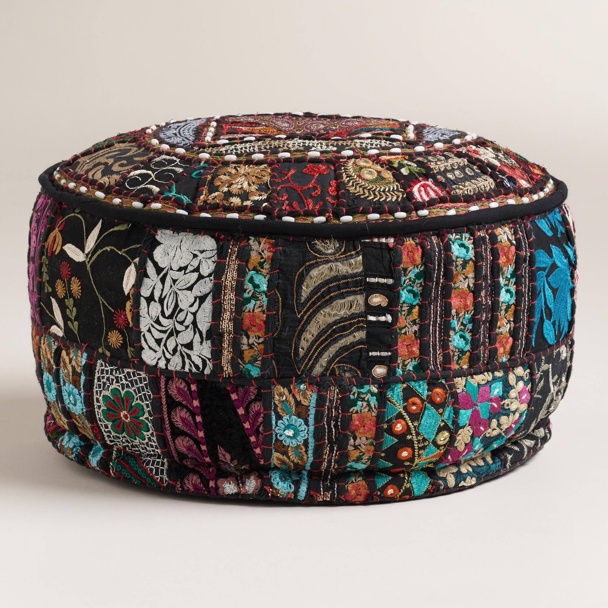 Made Of Vibrant Recycled Fabrics With Embellishments And