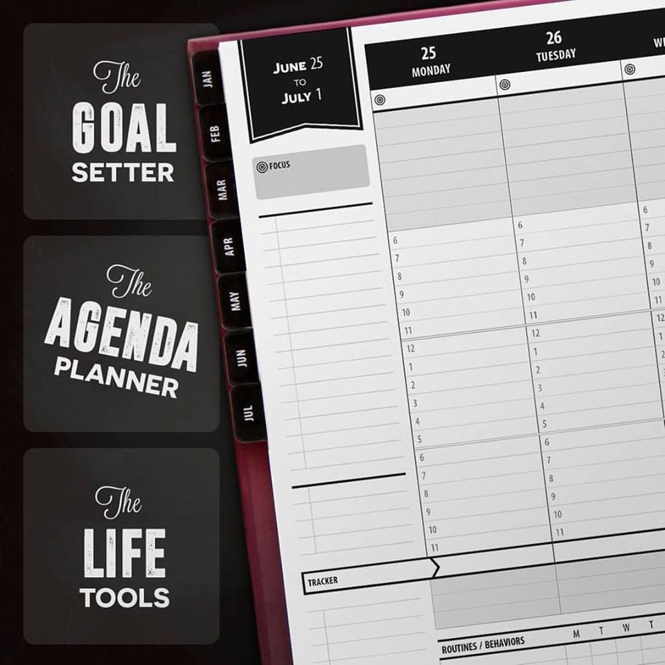 The Updated Weekly Layout Allows For Writing Daily Tasks At The