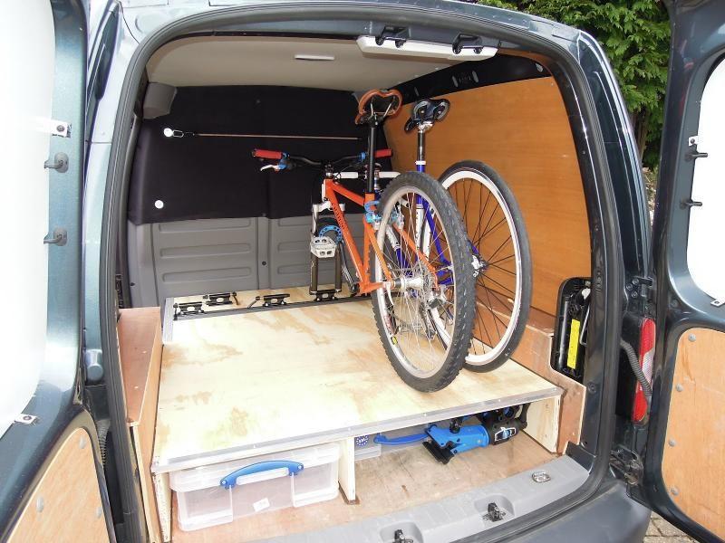 Gallery Bicycle Friendly Campervans Bike Storage In Van Bike