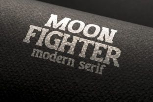 moon bold font
