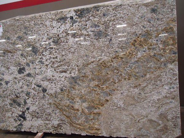 Enchanted Forest Granite Slab Kitchen Counter Living