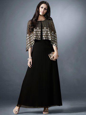 Eternal Stage Black Designer Kurti In 2019 Dresses