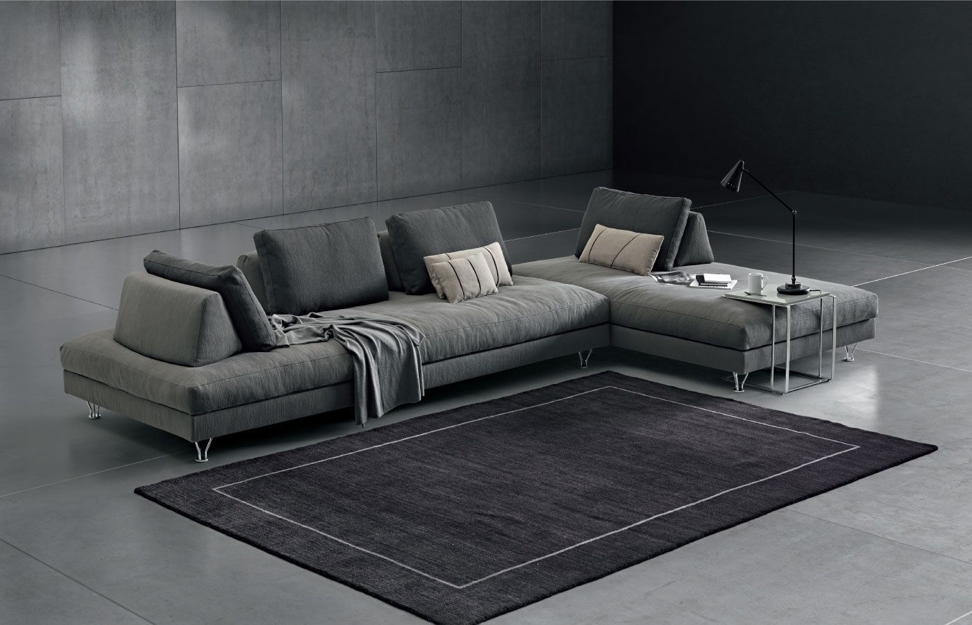 Fly divano componibile di design Dema Divano