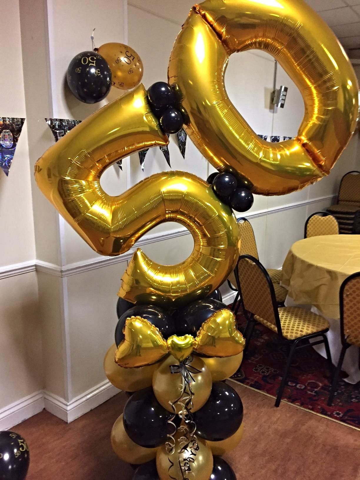 Big Balloon Numbers Balloon Decorations 50th Birthday Balloons