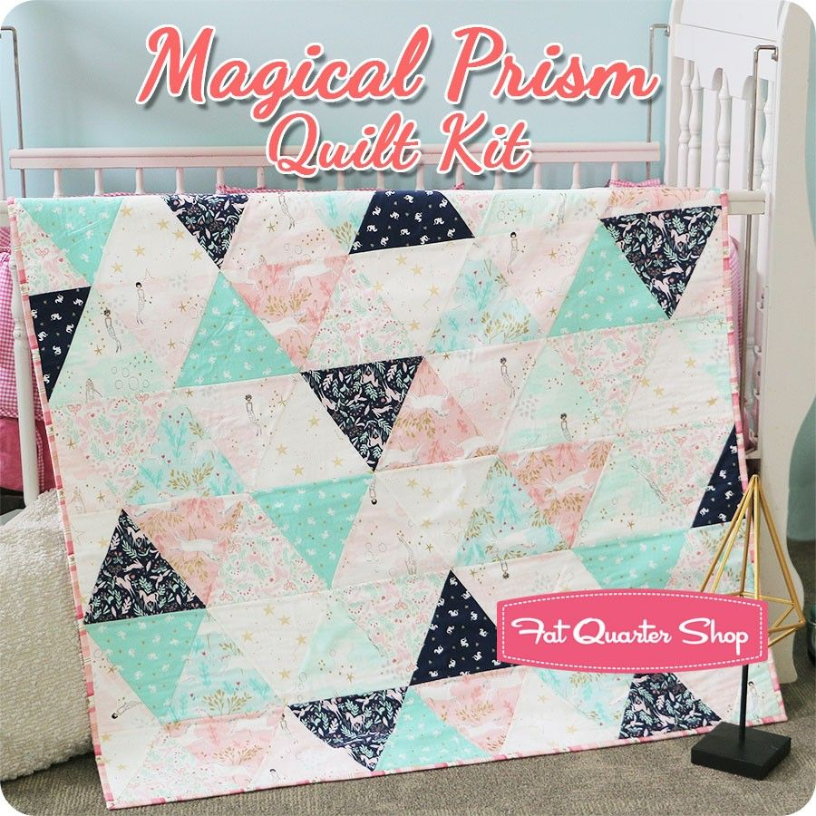 Magical Prism Quilt Kit Featuring Magic by Sarah Jane - Quilt Kits ... : magic quilt kits - Adamdwight.com