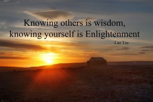 Lao Tzu Inspirational Quote Poster 24x36 Wisdom Enlightenment Sunset