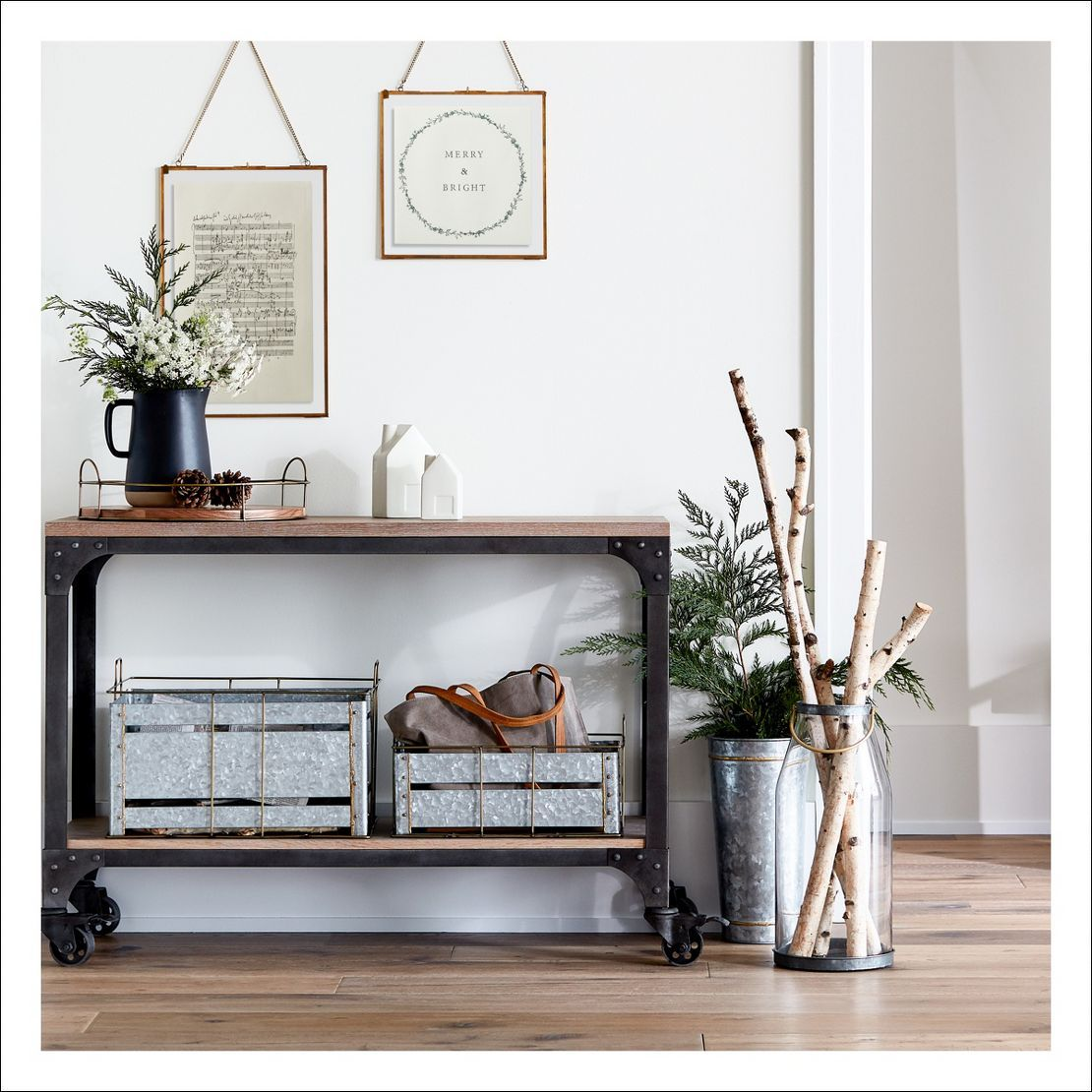 Joanna gaines hallway decor  Console Table and Decor ideas  Tables  Pinterest  Console tables