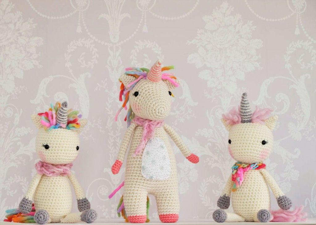 pattern free unicorn,patron gratuito unicornio | 4 pl yarn ...