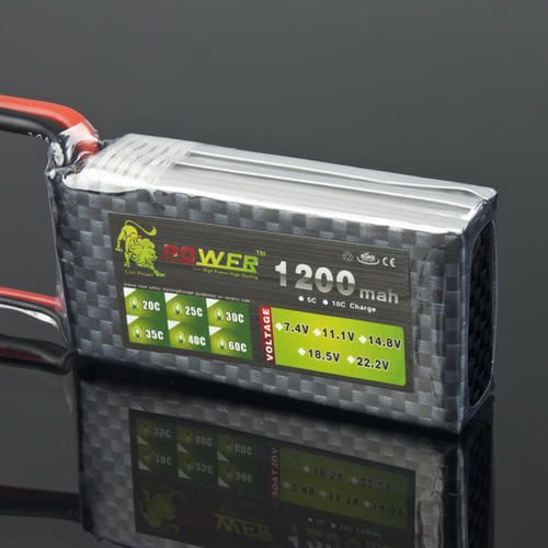 #Lion power 11.1v 1200mah 25c lipo battery  ad Euro 11.00 in #Rc helicopter parts #Elettronica