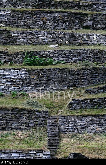 Terrace Village: The Terraces On The Steep Slopes Of Linescio, Terrace