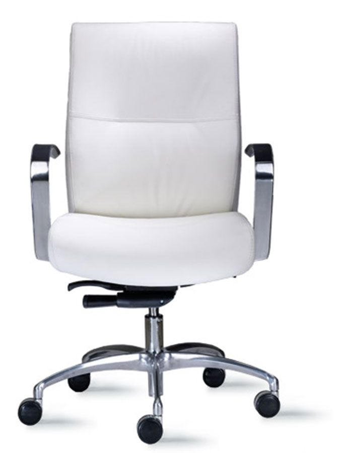 Cortina White 9to5 Modern Office Chair Chair Options Office Chair