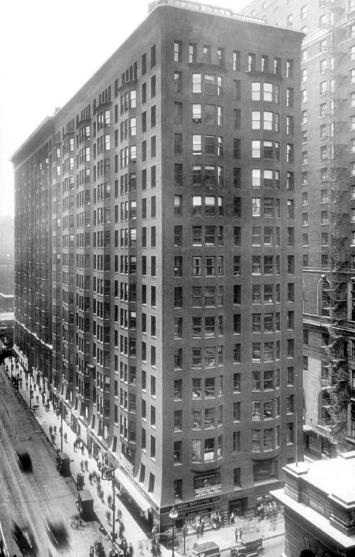 Burnham And Root Monadnock Building Chicago 1889 91