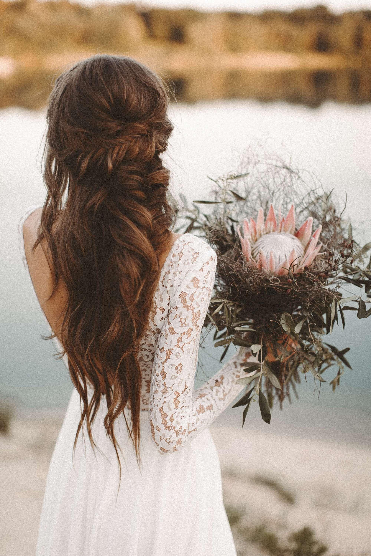 brautkleid mit rÜckenausschnitt - malea - wildflower love