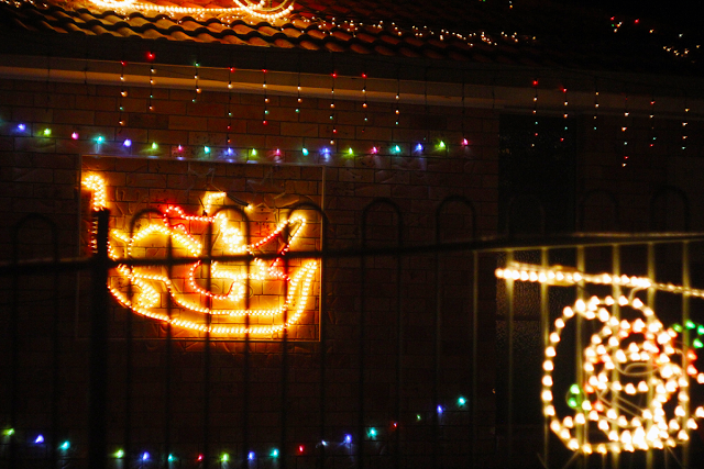 Christmas lights http://www.beingerin.com/2013/12/christmas-lights-grinch.html