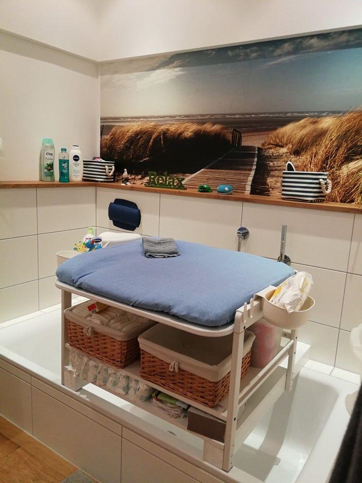 Wickeltisch Badewanne Badezimmer | Akcesoria łazienkowe dla ...