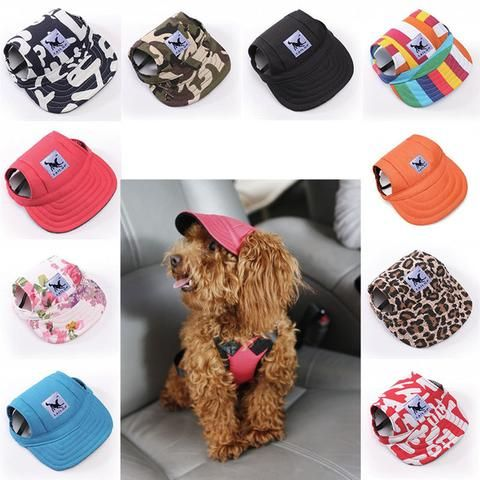 0fee9d3e81e ... hat for pups with ear holes. Summer Dog